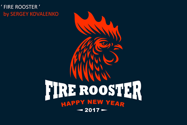 50 Creative Rooster Logo Designs for Inspiration - 4