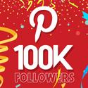 Post thumbnail of Celebrating 100,000 Pinterest followers
