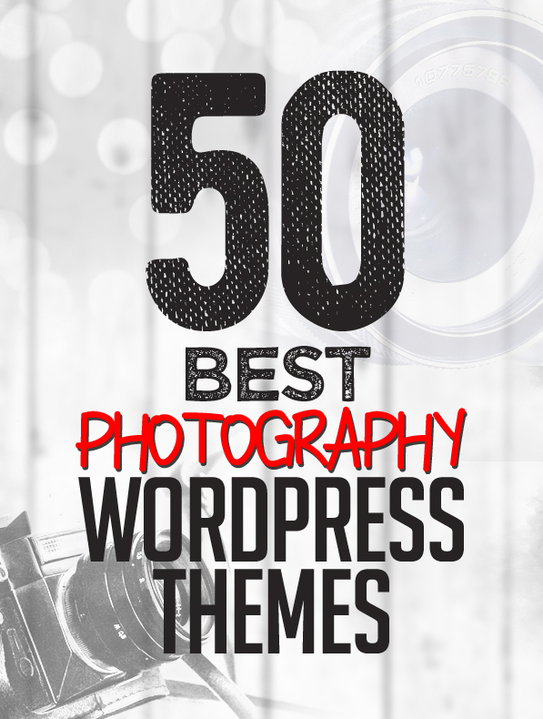 50 Best Photography WordPress Themes