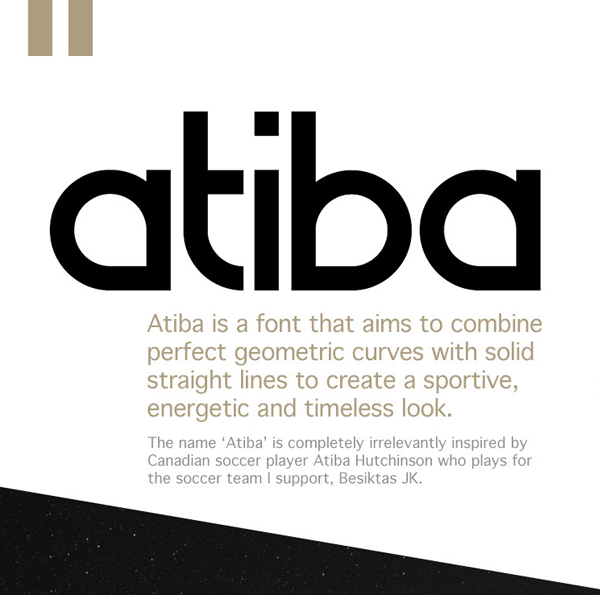 Atiba Free Font