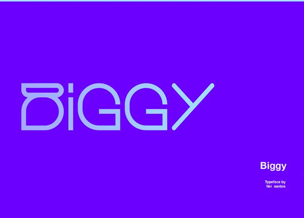 Biggy Free Font
