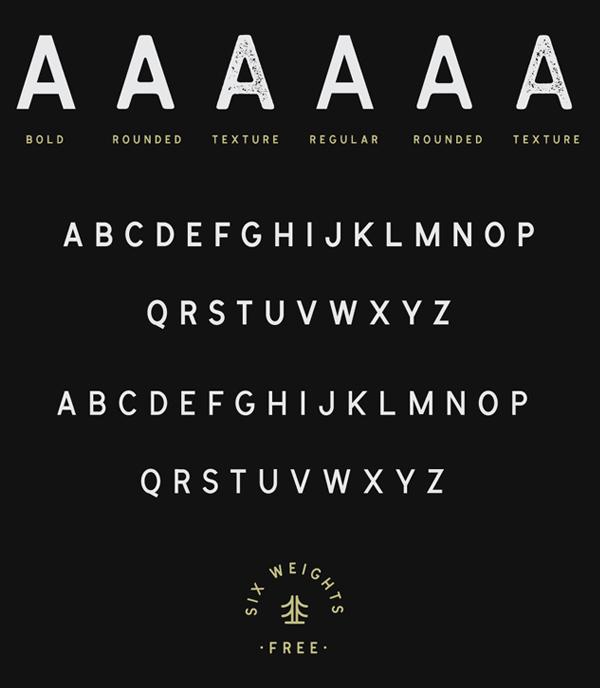 Cymbria Font Letters