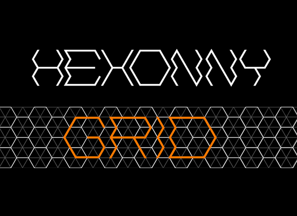 Hexonny Free Font
