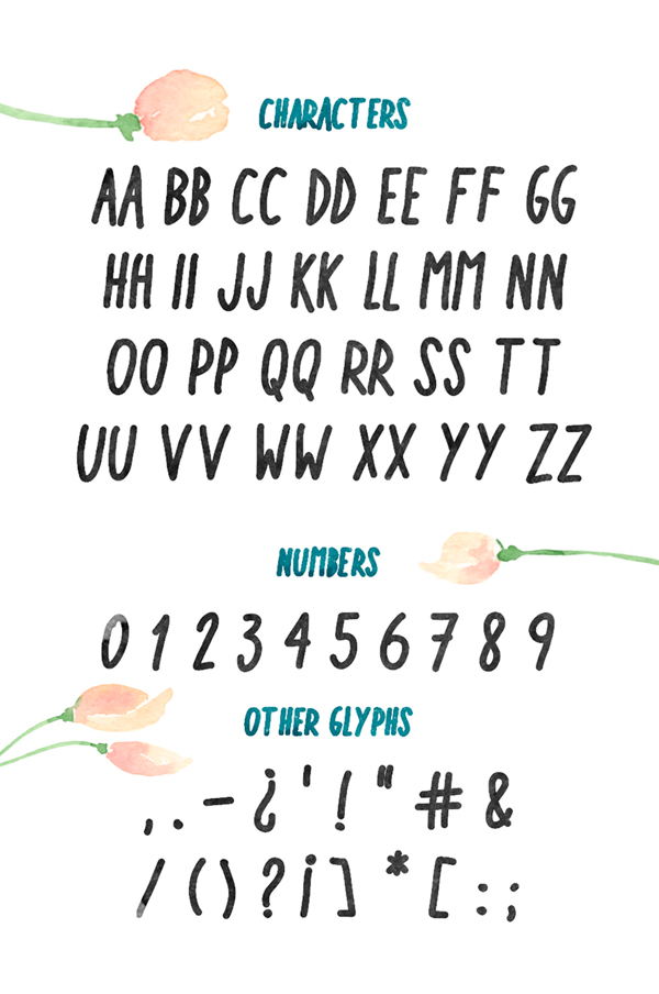 Kintsukuroi Font Letters