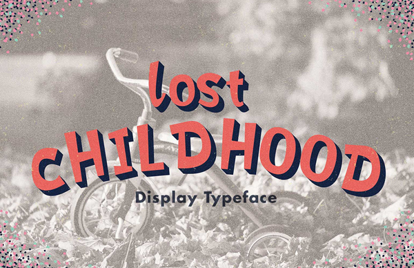 Lost Childhood Free Font