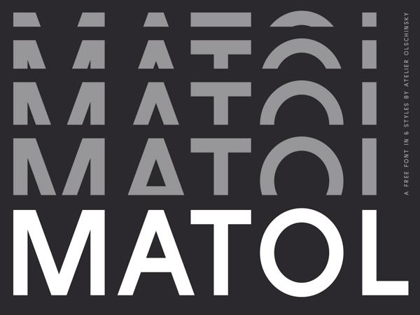 Matol Free Font