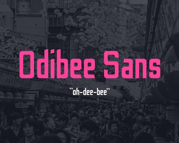 Odibee Sans Free Font