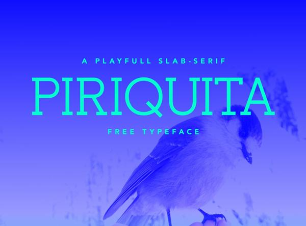 Piriquita Free Font