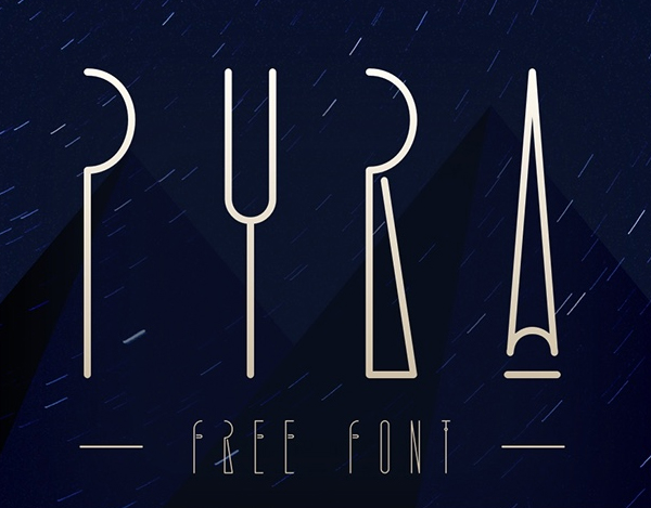 Pyra Free Font