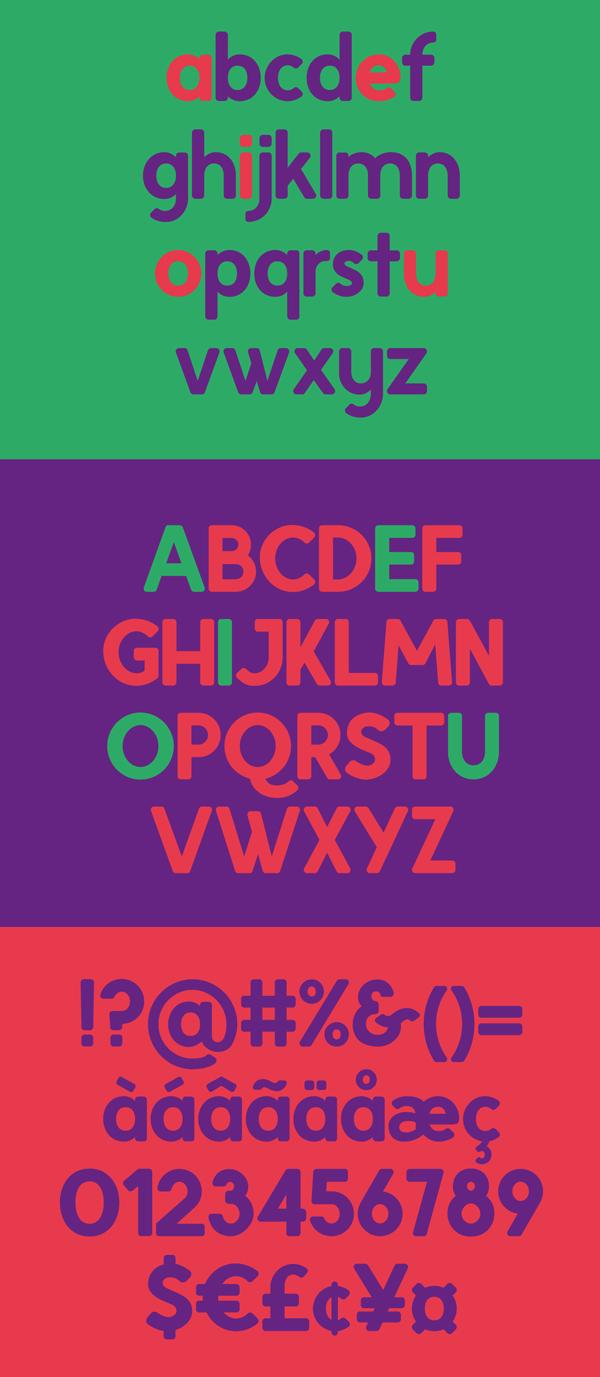 Rosmi Font Letters
