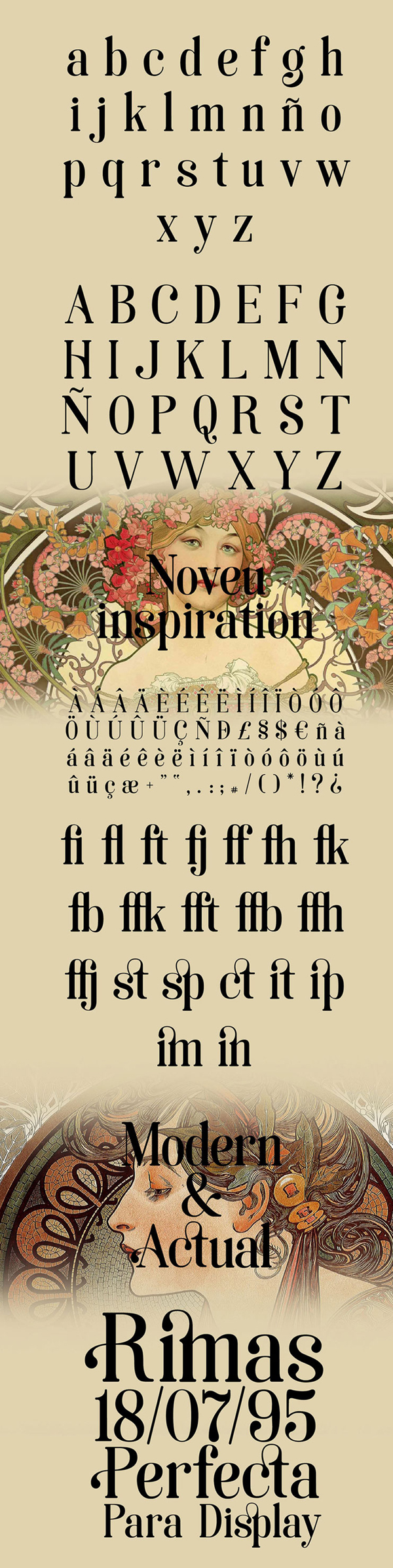 Soria Font Letters