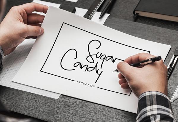 Sugar Candy Free Font
