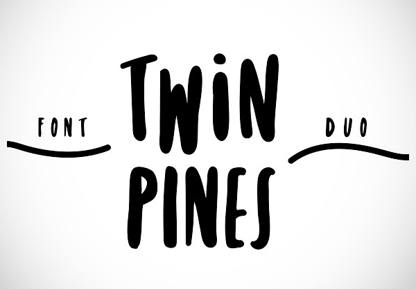 Twin Pines Free Font