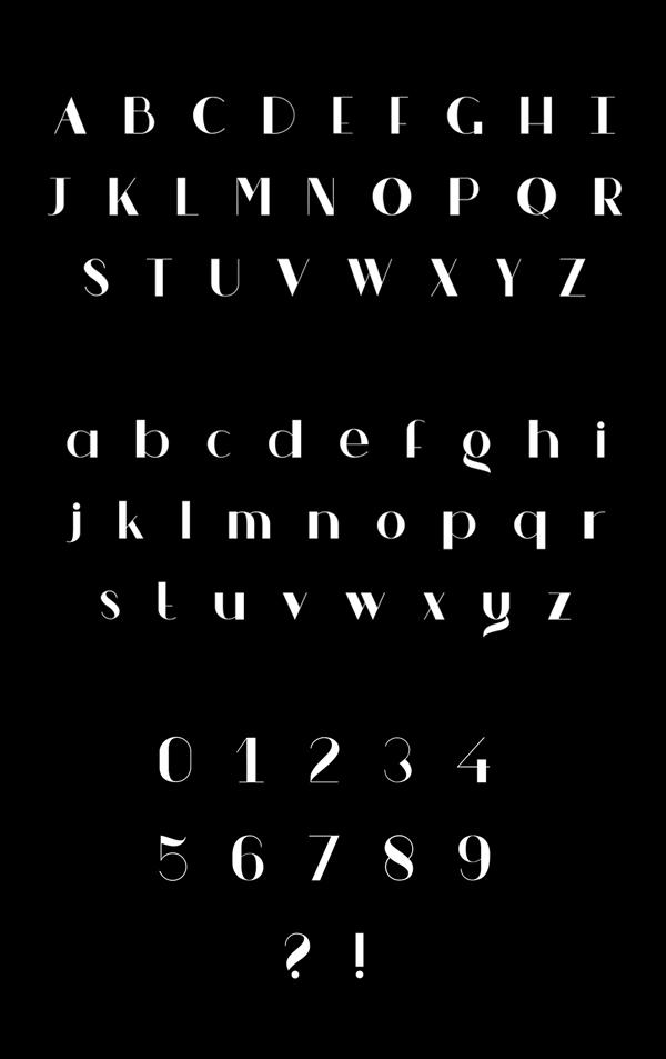 V FANCY Font Letters