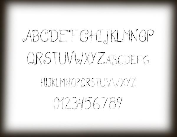 Wedding Garden Free Font Letters