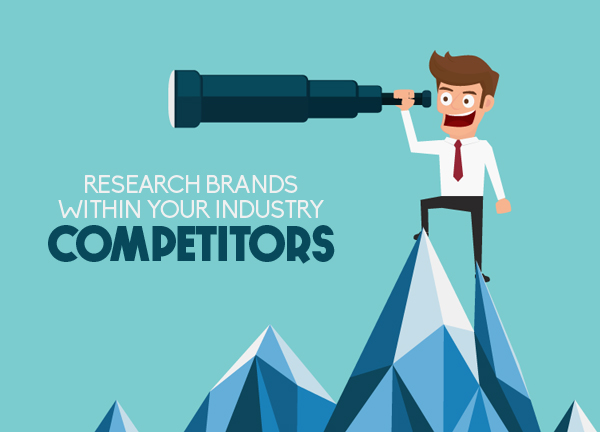 RESEARCH BRANDS WITHIN YOUR INDUSTRY; COMPETITORS