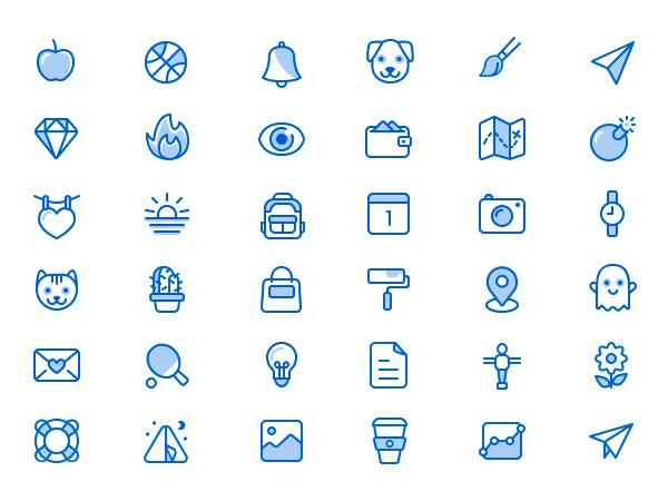 Free Miscellaneous Icons Set (36 Icons)
