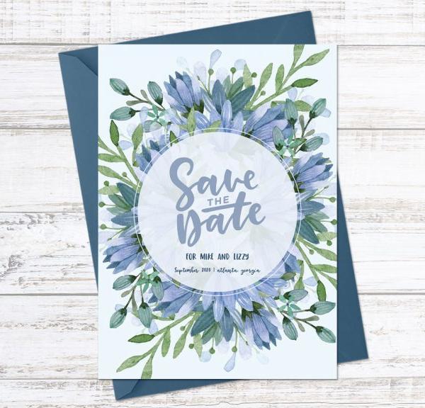 Create a Save the Date Postcard in Adobe Illustrator