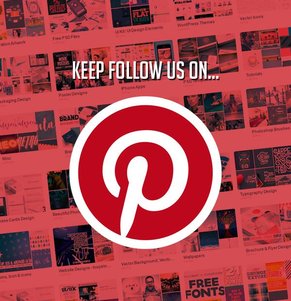 keep follow us on Pinterest