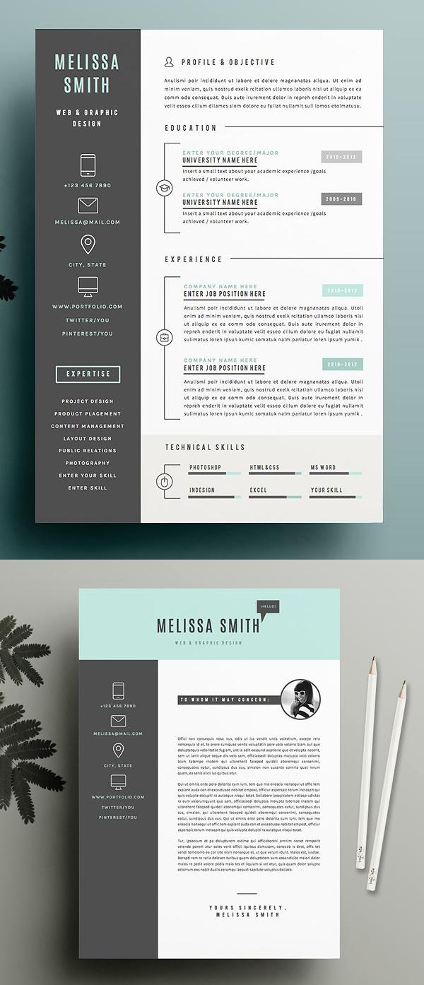 Creative Resume Template Pack