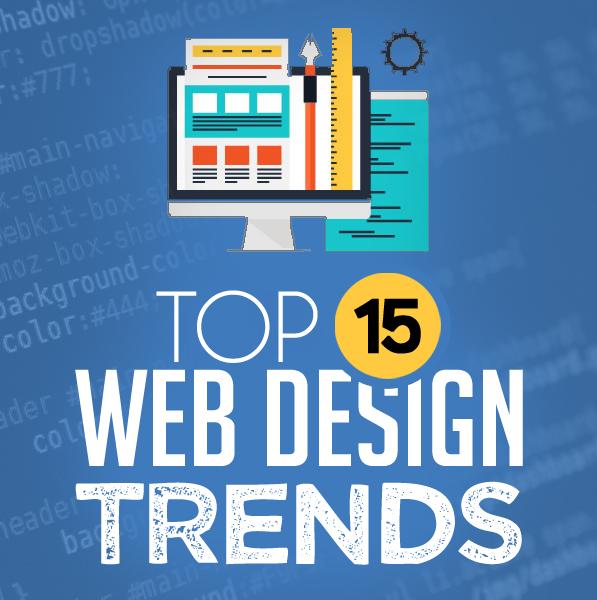 Top 15 Web Design Trends