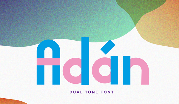 Adan free font