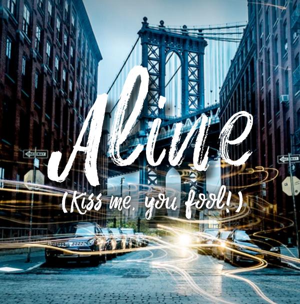 Aline free font