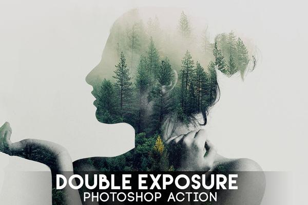 Download Double Exposure Photoshop Action