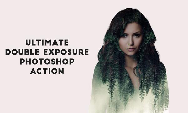 Free Double Exposure Pro Photoshop Action