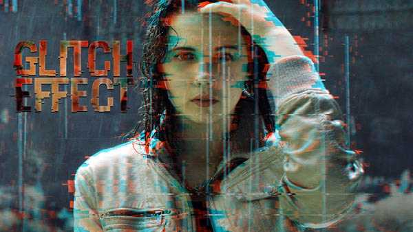 How To Create Awesome Glitch Effects Using PSD Actions - Photoshop Tutorial