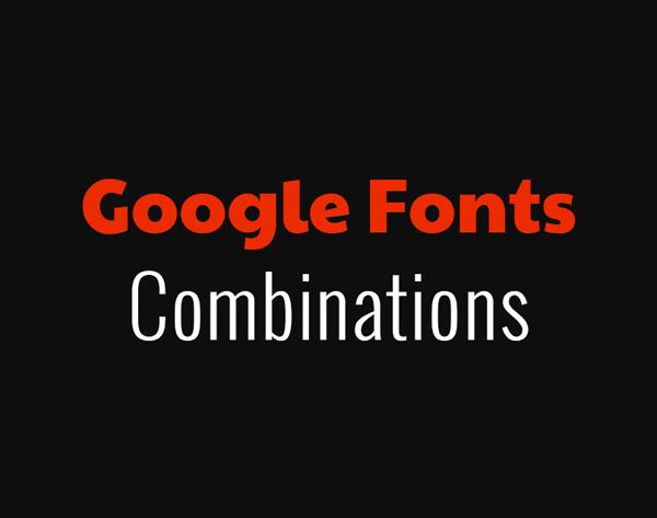 Google Fonts Free Font