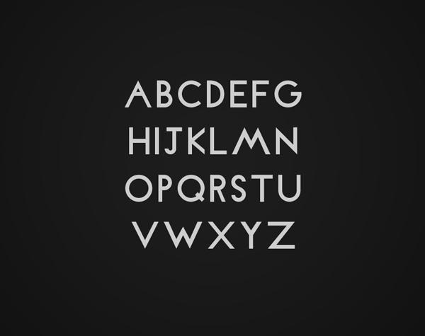 Lari free font letters