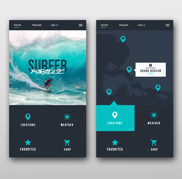 Modern Mobile App UI Design with Amazing User Experience - 4