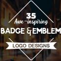 Post thumbnail of 35 Awe-Inspiring Badge & Emblem Logo Designs