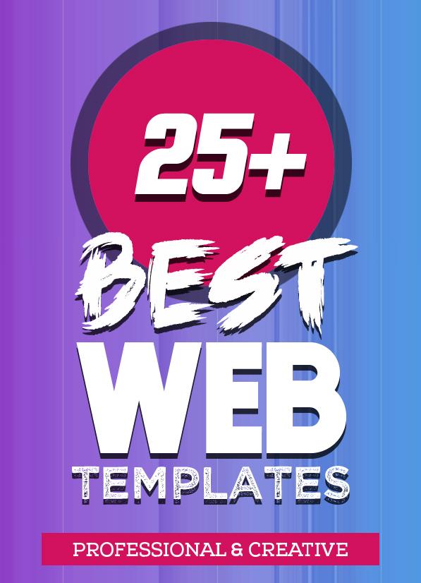 25+ Best Single Page Web Templates