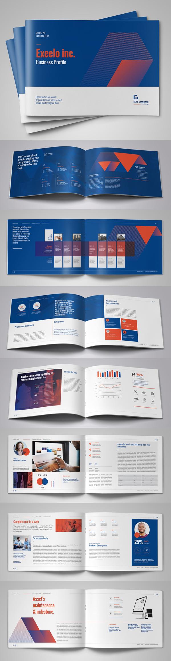 Creative Landscape Company Profile Brochure