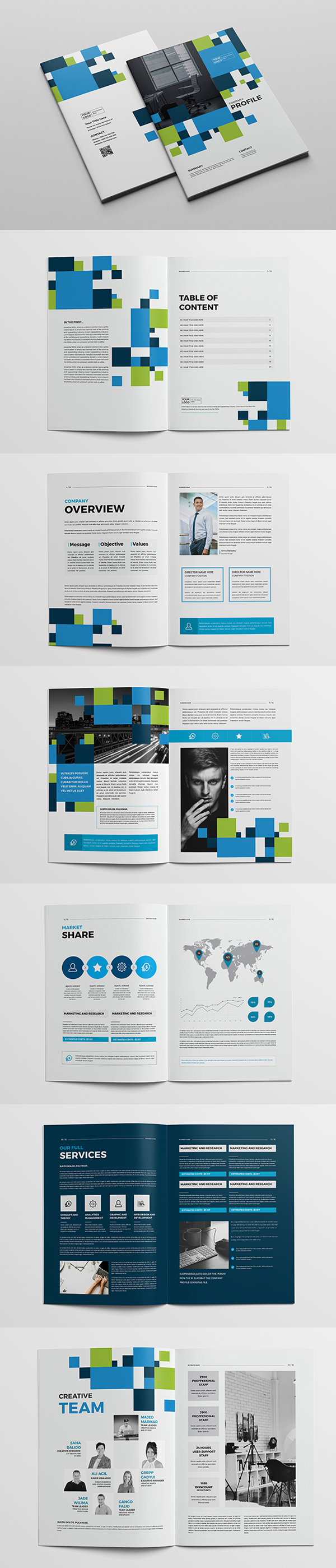 Business Company Profile Brochure
