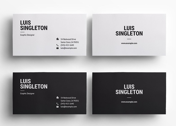 Simple and Clean Business Card Template