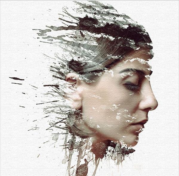 Creative Paint Splash Effect using Photoshop