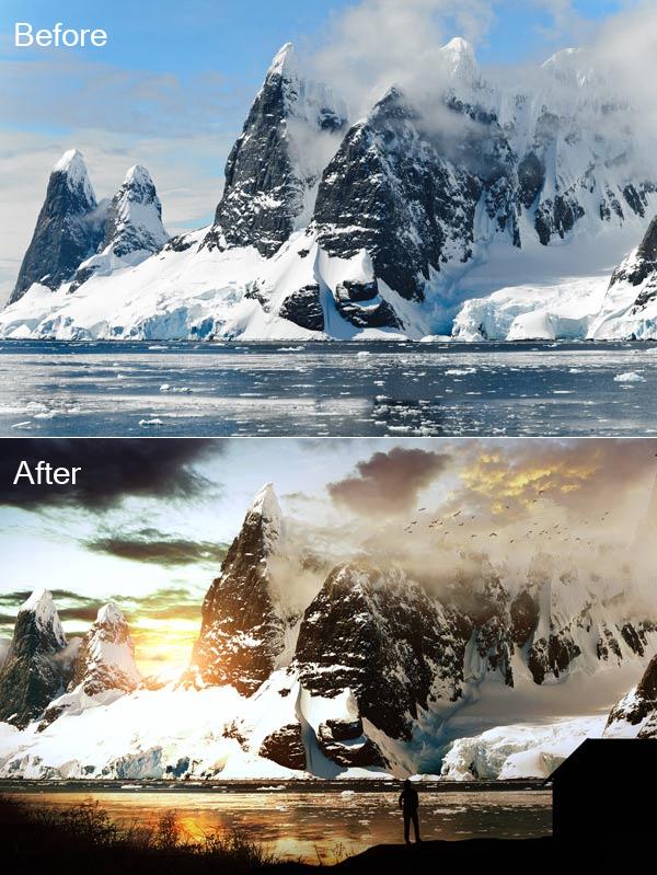 Create a Landscape Photo Manipulation in Photoshop