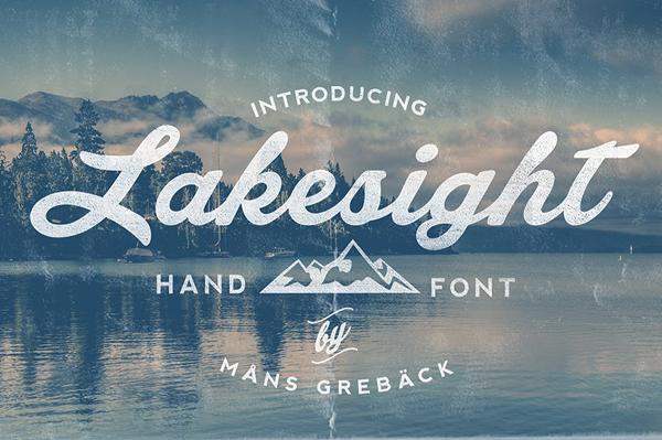 Lakesight Vintage Font