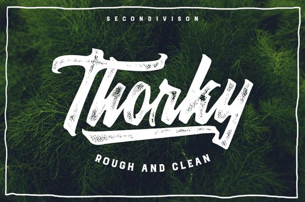 Thorky Vintage Font