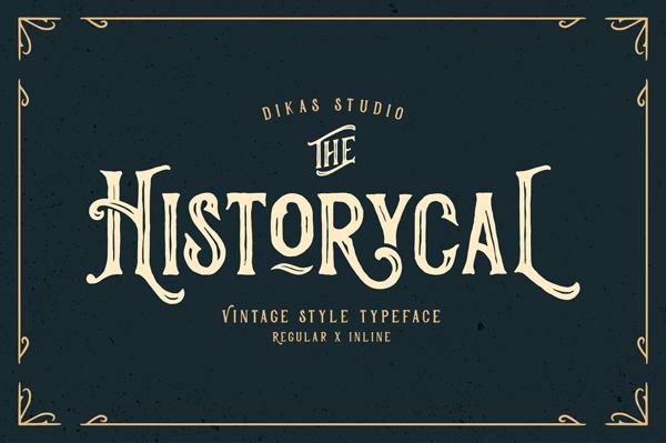 Historycal Font