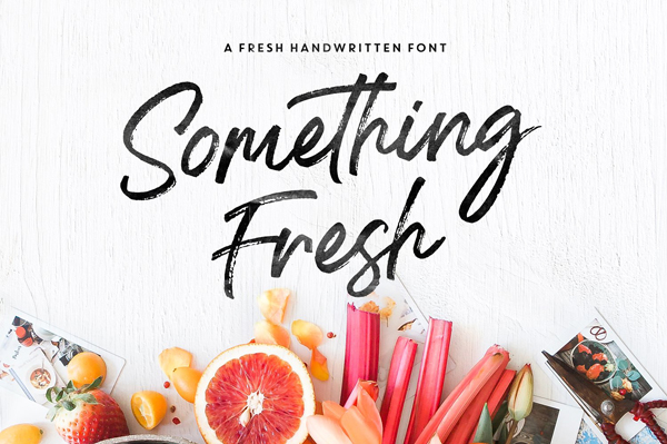 Something Fresh Font