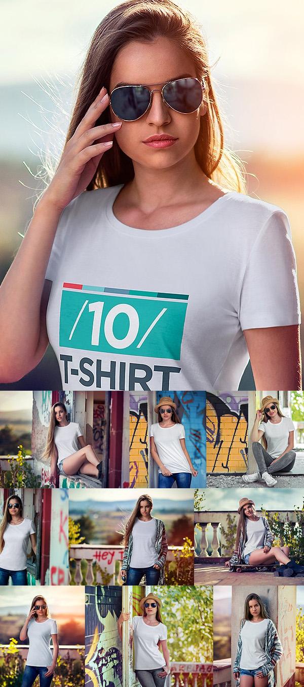 PSD T-Shirt Mockups