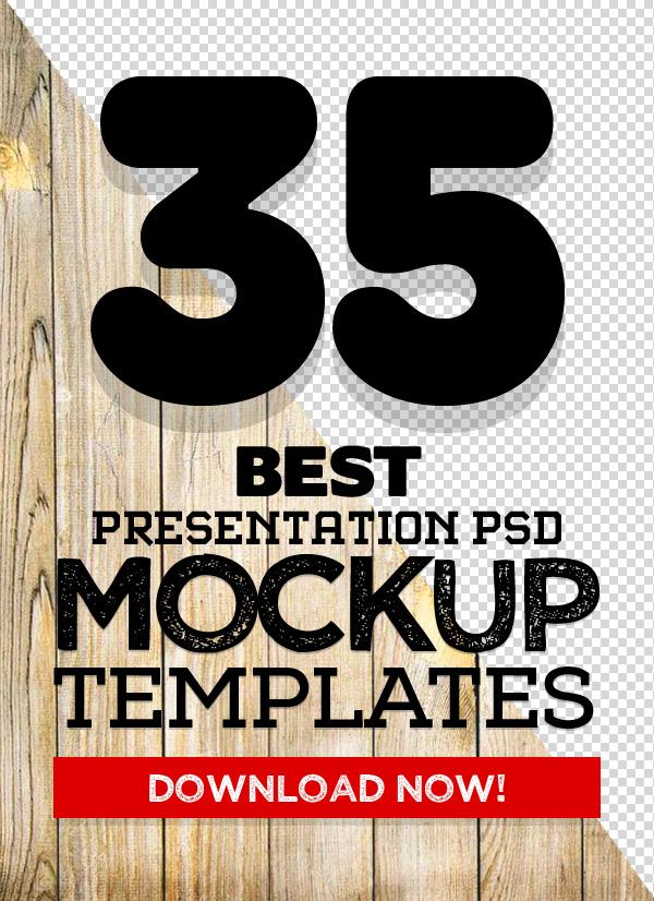 35 Best Mockups: Download Realistic PSD Mock-ups