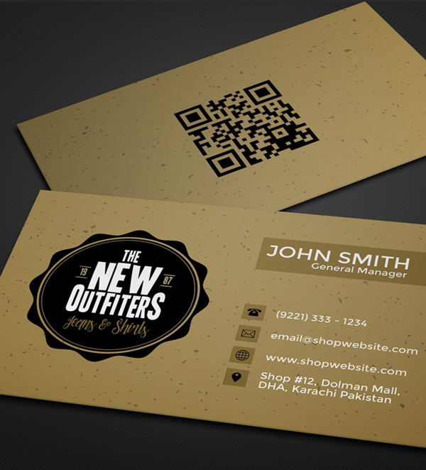 26 Modern Free Business Cards PSD Templates - 5