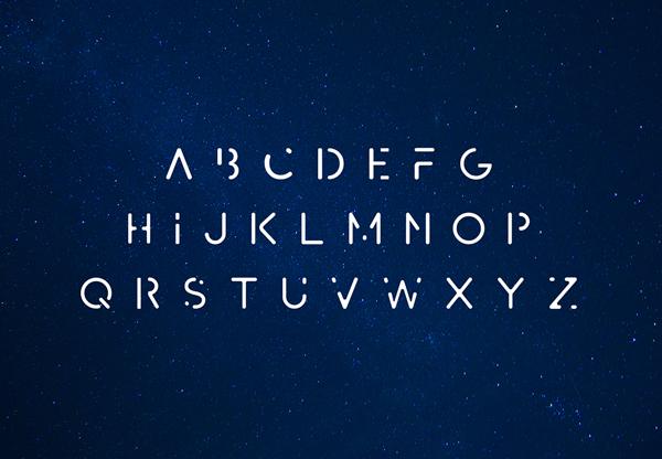 AVAYX Font Letters