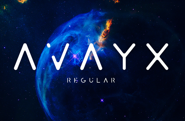 AVAYX Free Font