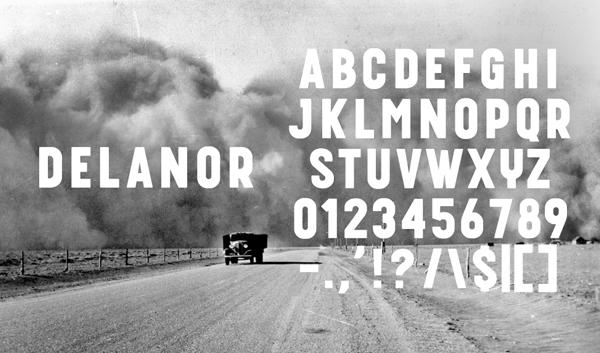 Delanor Free Font